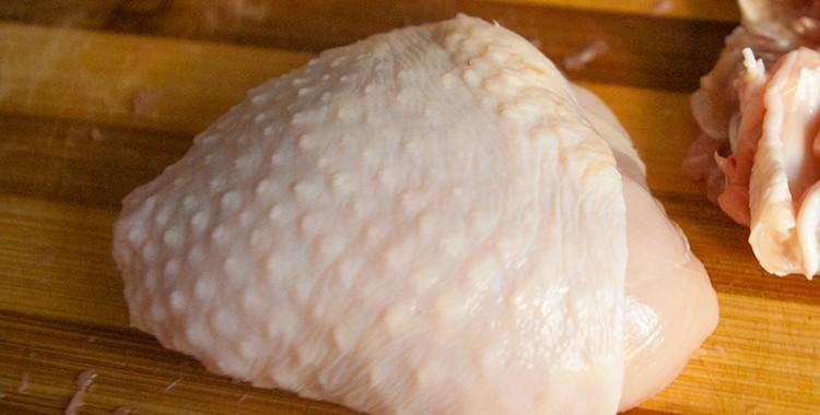 Как удалить кость из куриной голени
