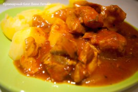 Жаркое по-домашнему из свинины: рецепт итальянской кухни