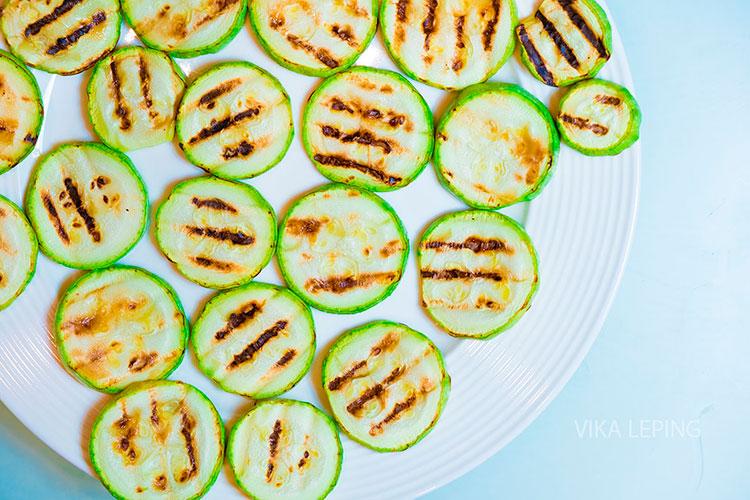 Жареные кабачки с помидорами на сковороде - рецепт пошаговый с фото
