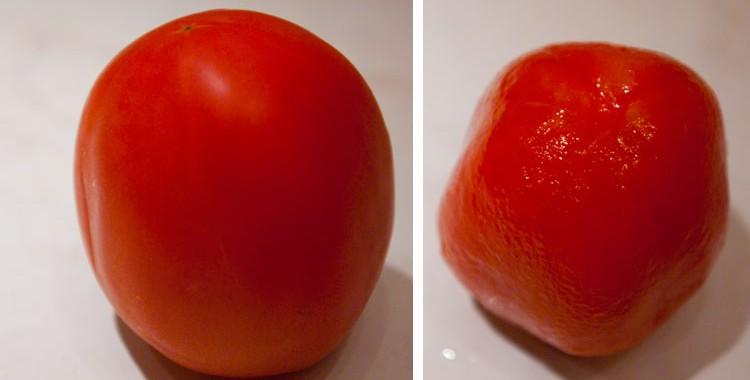 Бланширование помидоров или как очистить помидоры от кожицы
