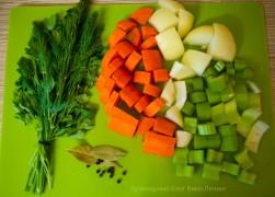 Как приготовить овощной бульон за 15 минут?