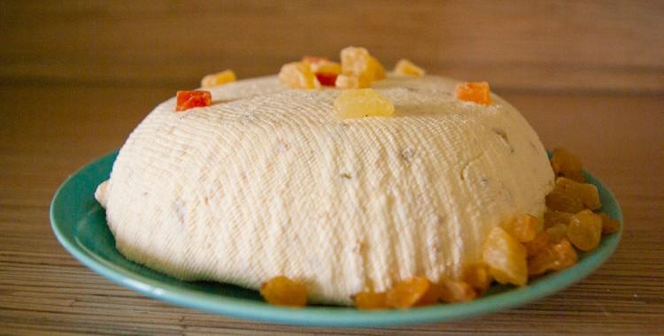 Творожная Пасха: рецепт на чудесный праздник!