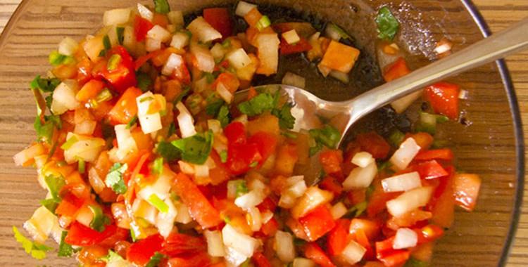 Мексиканский соус Сальса Фреска