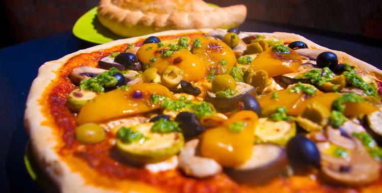 Вегетарианская пицца овощная