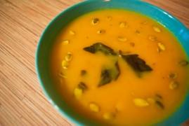 Суп-пюре из тыквы со сливками или тыквенный крем-суп