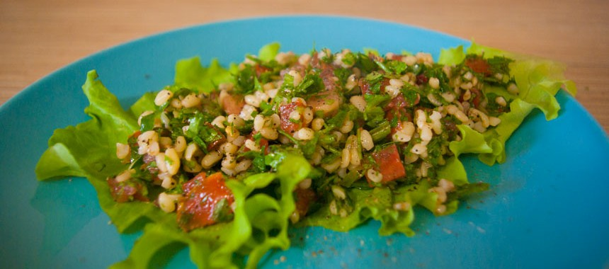 Арабский салат Табуле. Рецепт ливанской кухни
