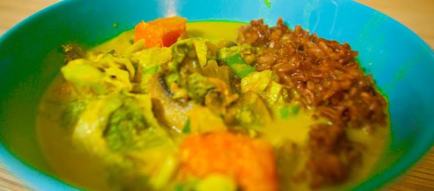Соус Карри с грибами и тыквой. Рецепт индийской кухни