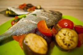 Запеченная Дорада в духовке: рецепт рыбы в фольге
