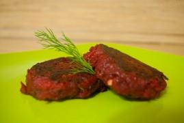 Постные свекольные котлеты: рецепт славянской кухни