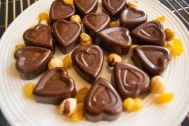 Как приготовить шоколадные конфеты: рецепт на 14 февраля