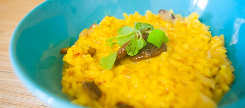 Ризотто с грибами и шафраном: рецепты итальянской кухни