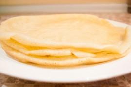 Диетические блины на воде без яиц и молока: рецепт на Масленицу