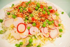 Капустный салат с тунцом и помидорами: рецепт диетический