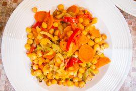 Как приготовить нут в духовке с овощами? Рецепт европейской кухни