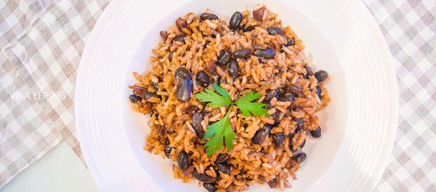 Конгри — рис с фасолью: рецепт кубинской кухни