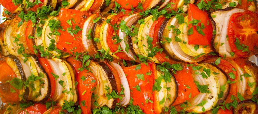 Овощной Рататуй: рецепт французской кухни