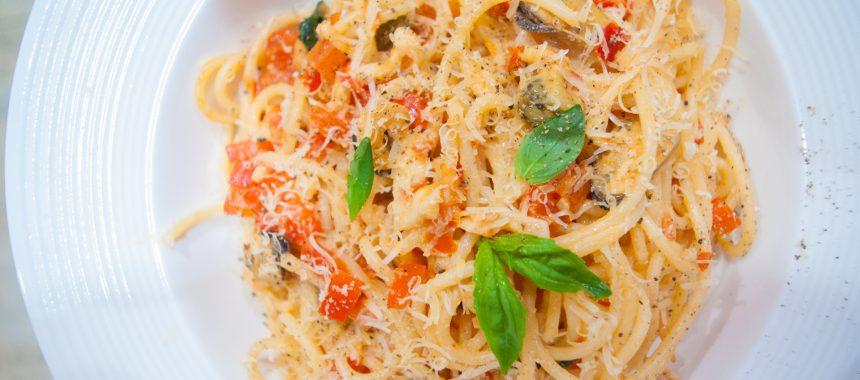 Паста с морепродуктами в сливочном соусе: рецепт итальянской кухни