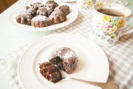 Шоколадный Фондан или кекс: рецепт европейской кухни