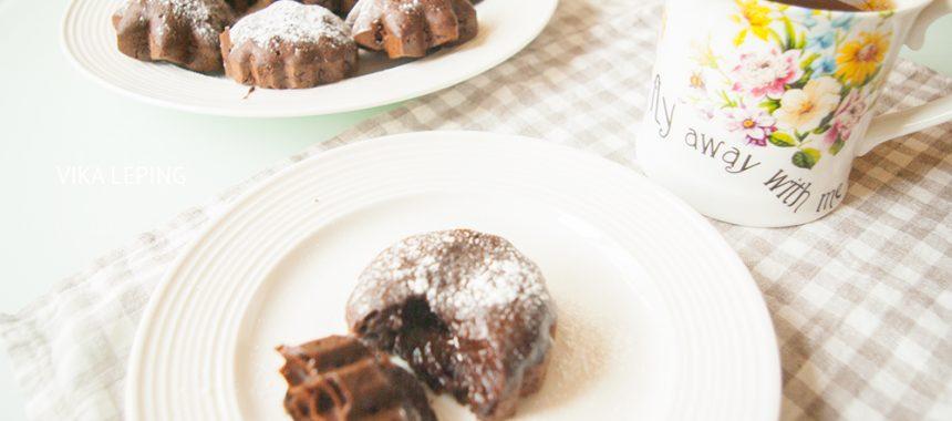 Шоколадный Фондан или кекс: рецепт французской кухни