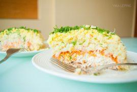 Рыбный салат Мимоза: рецепт на Новый Год!