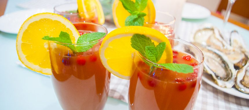 Апельсиново-клюквенный Пунш: рецепт на Новый Год!