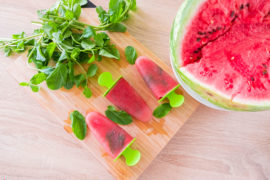 Сорбет или фруктовое мороженое из арбуза - рецепт уходящего лета
