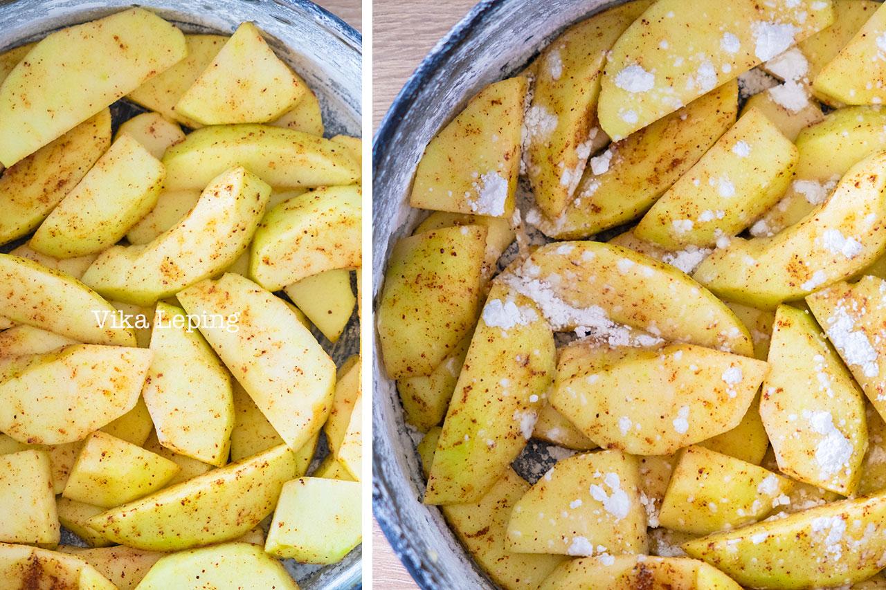 Простая Шарлотка или быстрый пирог с яблоками - сладкий рецепт осени