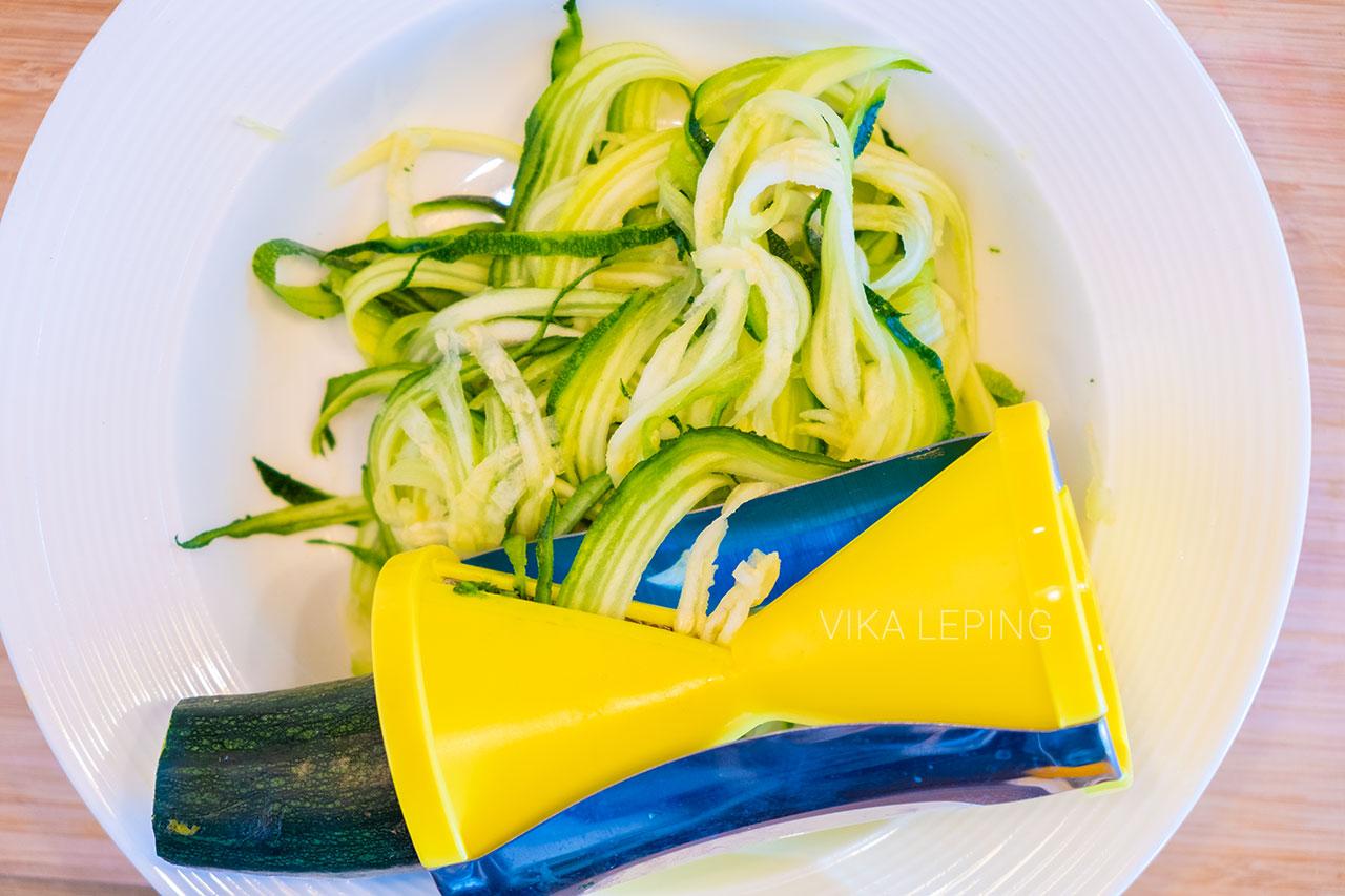 Паста спагетти из кабачков или цукини - рецепты сыроедов